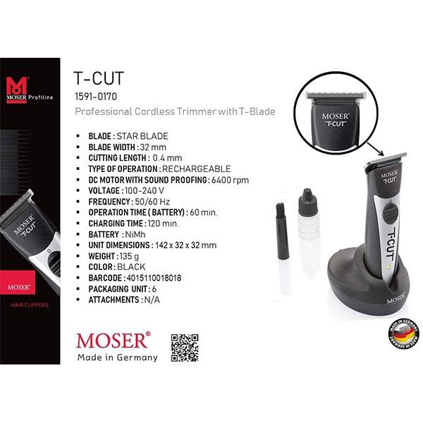 ماشین اصلاح موزر تی کات Moser T-CUT Hair Trimmer در ویلومون